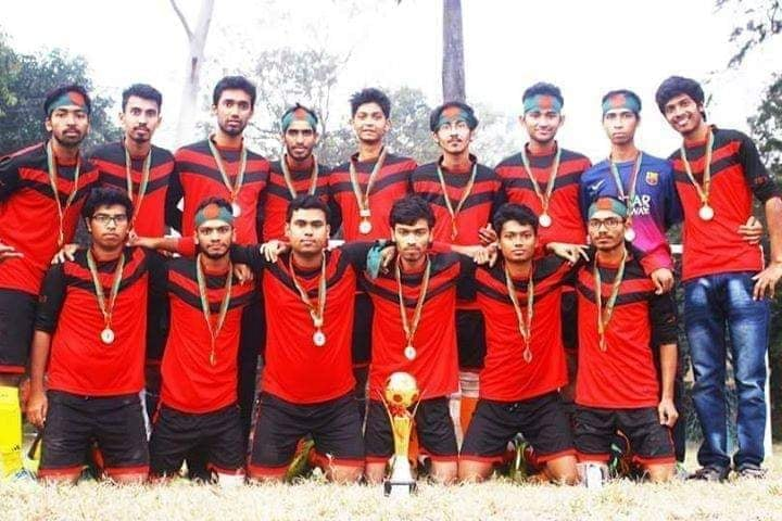 CSE Football Team has become at Inter Department Football Tournament.
